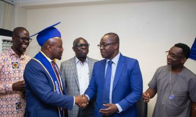 "#ECG: Accra West region confers an honorary ""Associate Professorship"" on the Managing Director"