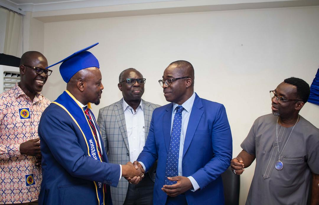 """#ECG: Accra West region confers an honorary """"Associate Professorship"""" on the Managing Director"""