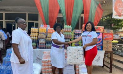 Kisa Gbekle Donates To Korle-Bu Children's Ward For The 5th Time.