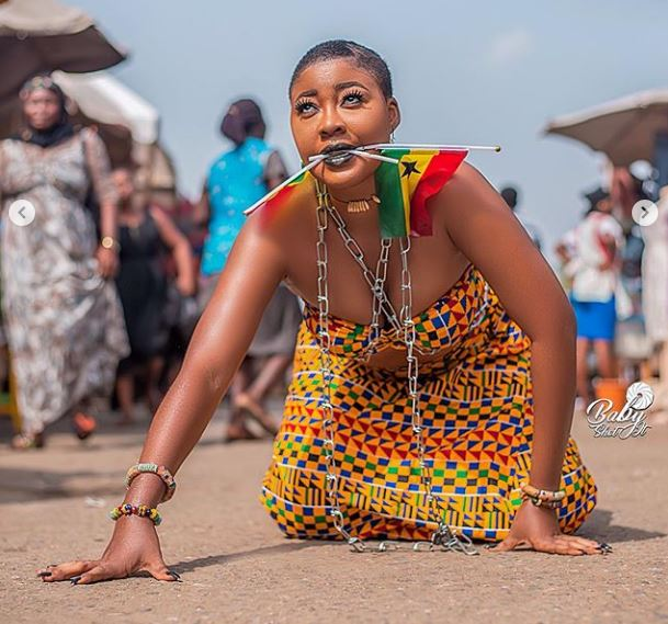 Celebrities who displayed Ghana to the world on it's 63rd Independence Day Celebration