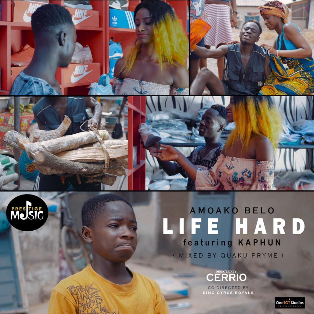 New Audio + Video: Amoako Belo – Life Hard.