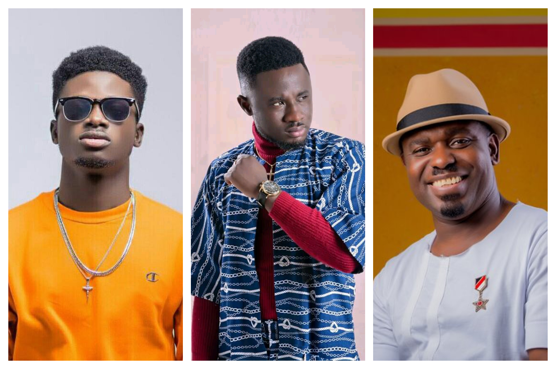 Scott Evans Hints On A Possible Feature With Nacee and Kuami Eugene.