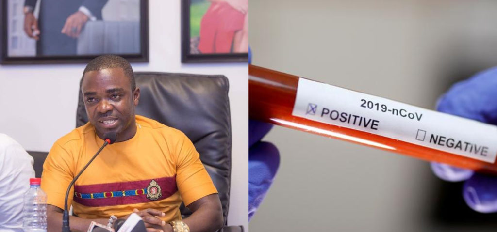 #Video: Sammy Flex Turns Out Negative For First Corona virus Test.
