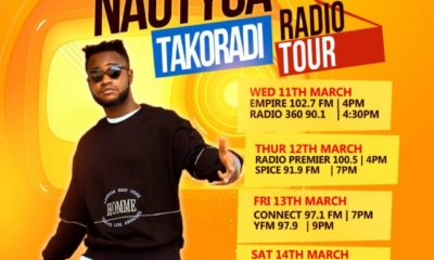 Nautyca Set To Start Takoradi Radio Tour.