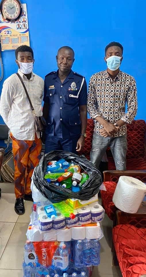 Shaibu Adamss Donates To Ghana Police Service.