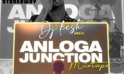 DJ Kesh Set To Drop A Mixtape From Stonebwoys Anloga Junction Album.
