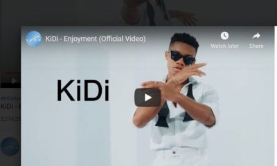 Kidi's Song Enjoyment hits 2.3 Millions Views in YouTube