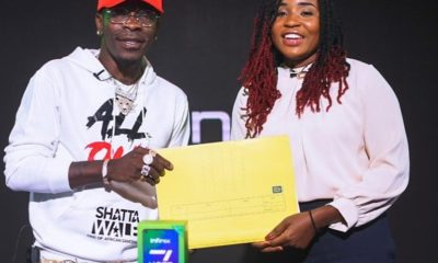 Infinix Extends Contract With Shatta Wale.