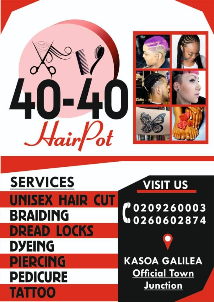 #HairPot:Hajia 40-40 Set To Outdoor New Company.