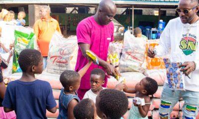Addi Self Donates To Nungua Orphanage On His Birthday.