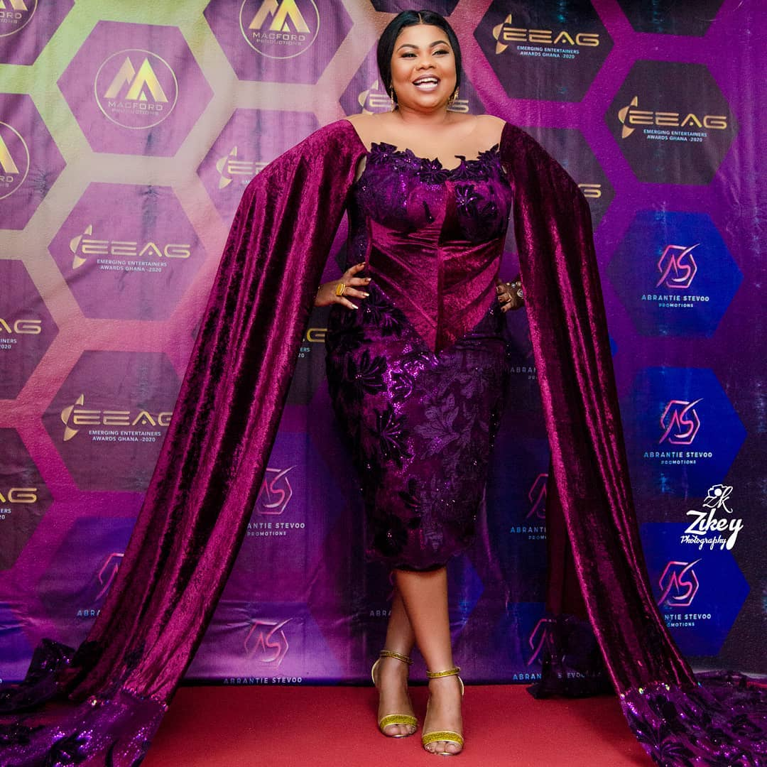 Empress Gifty Honoured As Gospel Influencer Of The Year.