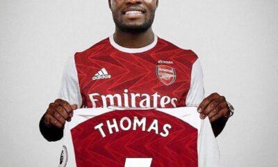 Thomas Partey's £45m move to Arsenal