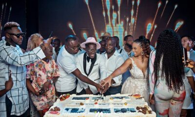Shatta Wale Hosts Plush All White Birthday Party [SEE PHOTOS]