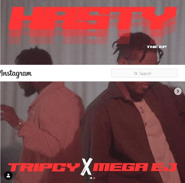 Mega EJ and Tripcy Launches The 'Hasty EP'